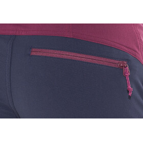 Bergans W's Cecilie Mountaineering Pants Dark Cherry/Navy/Strawberry